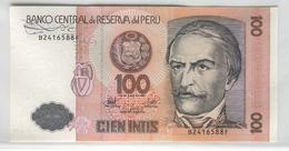 PERU 133 1987 100 Intis UNC - Peru
