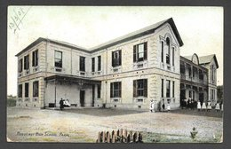 S Africa :Huguenot Hight School, Paarl, Used 1d WELLINGTON STATION 13 MY 08 C.d.s.> (the Postman,) Switzerland - Afrique Du Sud