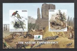 Benin 2003**, Naturschutz, Kakteen, Geschn..,Vignette / Benin 2003, MNH, Prot. Of Nature, Cacti, Imperf., Cinderella - Fantasie Vignetten
