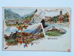 Alto Adige 133 Bolzano Bozen Litho 1897 - Italia
