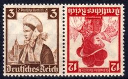 D. Reich Zd K 26 **, Trachten Zusammendruck - Deutschland