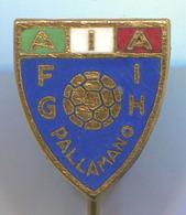 FIGH Italy, Italian Handball Federation, Pallamano, Vintage Pin, Badge, Abzeichen, Enamel - Handball