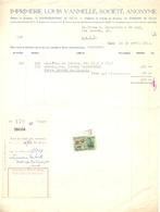 Factuur Facture - Imprimerie Drukkerij Louis Van Melle  Gand Gent 1953 - Imprimerie & Papeterie