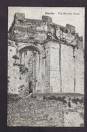 CPA GIBRALTAR - The Mocrish Castle - TB PLAN Ruine + TB Verso Oblitération Timbre - Gibilterra