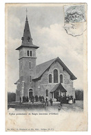ORTHEZ  Environs BAIGTS   Eglise Protestante   (recto Verso En L état) - Orthez