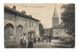 CPA 88 ESCLES Route De VIOMENIL - Frankreich