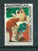1968 AAT 5 Cent Animals,dieren,tiere Used/gebruikt/oblitere - Australisch Antarctisch Territorium (AAT)