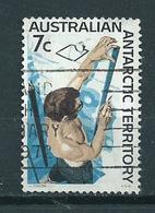 1966 AAT 7 Cent Snow Used/gebruikt/oblitere - Australisch Antarctisch Territorium (AAT)