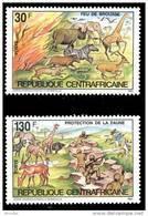Centrafricaine 06023** Protection De La Faune - MNH- - Centrafricaine (République)
