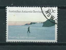 1987 AAT 10 Cent Landscapes Used/gebruikt/oblitere - Australisch Antarctisch Territorium (AAT)