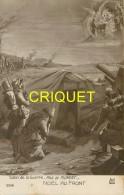 Guerre 14-18 Illustrée Par Plument, Noël Au Front, Crèche Improvisée - Guerra 1914-18