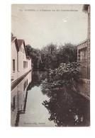 91 Corbeil L' Essonne Rue Des Grandes Bordes Cpa Carte Ancienne Colorisée Cachet 1924 - Corbeil Essonnes