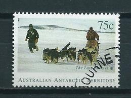 1994 AAT 75 Cent Dogs,honden,chiens Used/gebruikt/oblitere - Australisch Antarctisch Territorium (AAT)