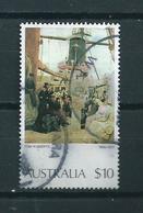 1977 Australia $10 Art,kunst Used/gebruikt/oblitere - 1966-79 Elizabeth II