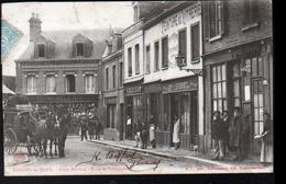 76, Forges Les Eaux, Place Breviere, Poste Et Telegraphe - Forges Les Eaux