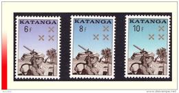 Katanga 0079/81** Gendarmerie Katangaise MNH - Katanga