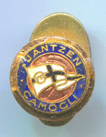 Water Polo / Pallanuoto - JANTZEN CAMOGLI, Italy, Enamel, Vintage Pin, Badge, Abzeichen, Button Hole, Bertoni - Water Polo