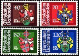 Liechtenstein 0684/87**  Blasons  MNH - Faciale 3 FS - Liechtenstein