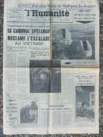 L'Humanité 26 Déc 1966 - Cardinal Spellman - Luna 13 - Adamo - Observatoire Haute Provence - Zeitungen