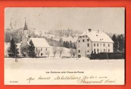 GCD-08  Les Eplatures Près De La Chaux-de-Fonds En Hiver. Circulé En 1904 - NE Neuenburg