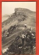 GCD-16 Le Chasseron, ANIME. Cachet Rances 1921 Pour Vaulion - VD Vaud