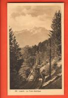 GCD-31  Leysin, Le Train Electrique. Cachet 1918. Photo Decaux - VD Vaud