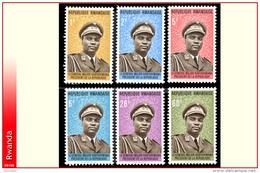 Rwanda 0572/77**    President Habyarimana  MNH - Rwanda
