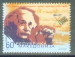 MK 2005-359 ALBERT EINSTEIN, MACEDONIA, 1 X 1v, MNH - Albert Einstein