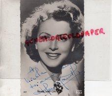 CARTE PHOTO  DEDICACEE RENEE SAINT CYR-VITTORE-BEAUSOLEIL 1904-NEUILLY SUR SEINE 2004-GEORGES LAUTNER - Fotos Dedicadas