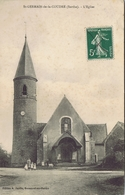 72 - Saint-Germain-de-la-Coudre (Sarthe) - L'Eglise - Andere Gemeenten