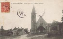 72 - Saint-Germain-de-la-Coudre (Sarthe) - Place De L'Eglise - Andere Gemeenten
