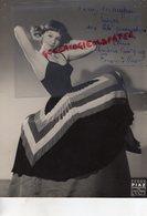 GRANDE PHOTO TEDDY PIAZ- FRANCOISE ARNOUL-GAUTSCH- DEDICACEE-ACTRICE CINEMA-CONSTANTINE 1931-GEORGES CRAVENNE- - Foto Dedicate