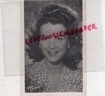 PHOTO ORIGINALE HARCOURT DEDICACEE JACQUELINE GAUTHIER-ACTRICE CINEMA-1921-1982 PARIS-AU BONHEUR DES DAMES - Dédicacées