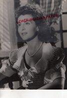 GRANDE PHOTO ORIGINALE RAYMOND HEIL-  JACQUELINE GAUTHIER-ACTRICE CINEMA-1921-1982 PARIS-AU BONHEUR DES DAMES - Fotos Dedicadas