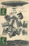 MONTLHERY - Souvenir, Carte Multi-vues. - Montlhery