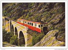 CPSM - Ponte Nuevo (Corse) - Autorail Billard Sur Le Pont Du Golo - FRANCO DE PORT - Francia