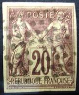 Colonies Françaises               N° 34                OBLITERE - Sage
