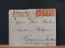 76/106 LETTRE RECOMM. 1926 POUR USA - 1900-27 Merson
