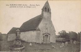 72 - Saint-Jean-d'Assé (Sarthe) - Ancienne église Paroissiale De Notre-Dame Des Champs - Sonstige Gemeinden