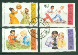 Zambia: 1979   International Anti-Apartheid Year    Used - Zambia (1965-...)