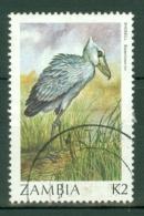 Zambia: 1987/88   Birds    SG499   K2     Used - Zambia (1965-...)