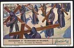 LIEBIG - FR -  1 Chromo N° 4 - Série/Reeks S 1341 - Processions Et Pélerinages En Belgique: FURNES, Pénitents. - Liebig