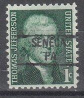 USA Precancel Vorausentwertung Preo, Locals Pennsylvania, Seneca 841 - Vereinigte Staaten