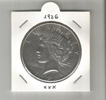 I DOLLARO PEACE 1926 - Federal Issues