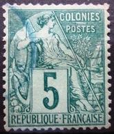 Colonies Françaises               N° 49                OBLITERE - Alphee Dubois