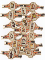24 Cigar Bands Nicoleto Clocks And Pendules - Bagues De Cigares