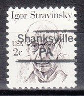 USA Precancel Vorausentwertung Preo, Locals Pennsylvania, Shanksville 842 - Vereinigte Staaten