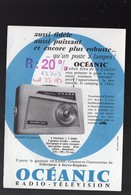 (TSF) Prospectus OCEANIC Croisière  (PPP8374) - Advertising