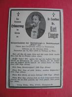 Sr.Excellenz Dr.Karl Lueger.Burgmeister...Wien - Andachtsbilder