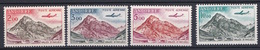 ANDORRE  PA N° 5 / 6 / 7 / 8  NEUF** LUXE  MNH - Poste Aérienne